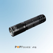 26650 Rechargeable CREE Xm-L U2 Hunting LED Flashlight (POPPAS-F15)
