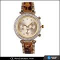 Chronographen Stil Japan Bewegung Quarzuhr sr626sw Batterie, Männer Uhren Luxus