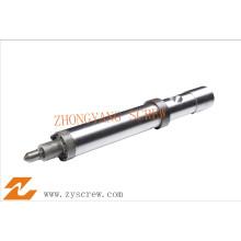 Schraubenkomponenten Schraubenspitze Zylinderdüse Einspritzung
