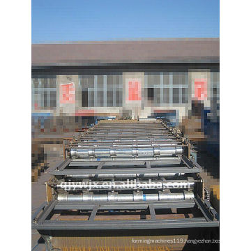 Full-automatic Color Steel Roof Panel Making Machine