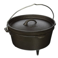 12'' Cast Iron Dutch Oven With 3 Legs
