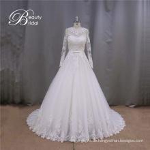 New Style Langarm Brautkleid Hochzeit Kleid Brautkleid