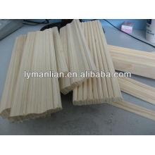 moldura de madeira de álamo / acessórios para móveis de madeira
