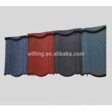Roof product-stone coated metal house roof tiles for sale