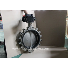Ss316L Lug Type Control Butterfly Valve (D7L1X-10/16)