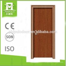 nouvelles portes intérieures ignifuges de conception pour la maison fabriquées en Chine