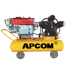 apcom 100ltr 3hp air compressor de ar 4hp 100 litros compresor gasolina air combresor silenced 50l