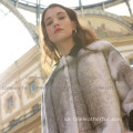 Winter Reversible Fur Cross Lady Long Coat