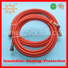 Chemical Resistant Teflon PTFE Stainless Steel Braided Hose