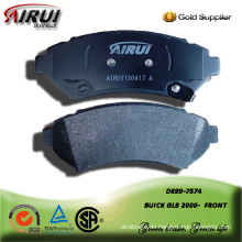 semi-metallic brake pad for BUICK GL8 2000-  FRONT