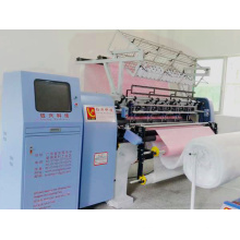 Quilt Making Garment Machine Lock Stitch Multi Needle Quilting Machine