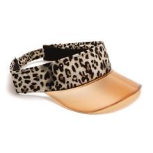 Леопардовый ПВХ солнцезащитный козырек от солнца