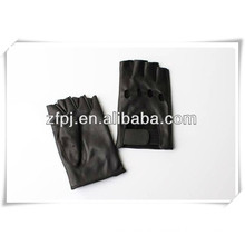 Fashion fingerless gloves driving leather gloves in baoding
