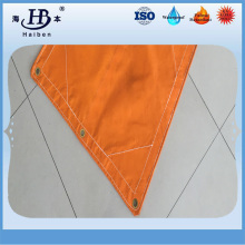 PVC coated fiberglass flame retardant fabric for welding protection