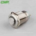 CMP metal 16mm 1NO illuminated switch short body latching push button