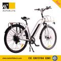 MOTORLIFE / OEM EN15194 VENTE CHAUDE vélo électrique de 36v 250w 700C, 36v 10.4ah vélo électrique li ion batterie