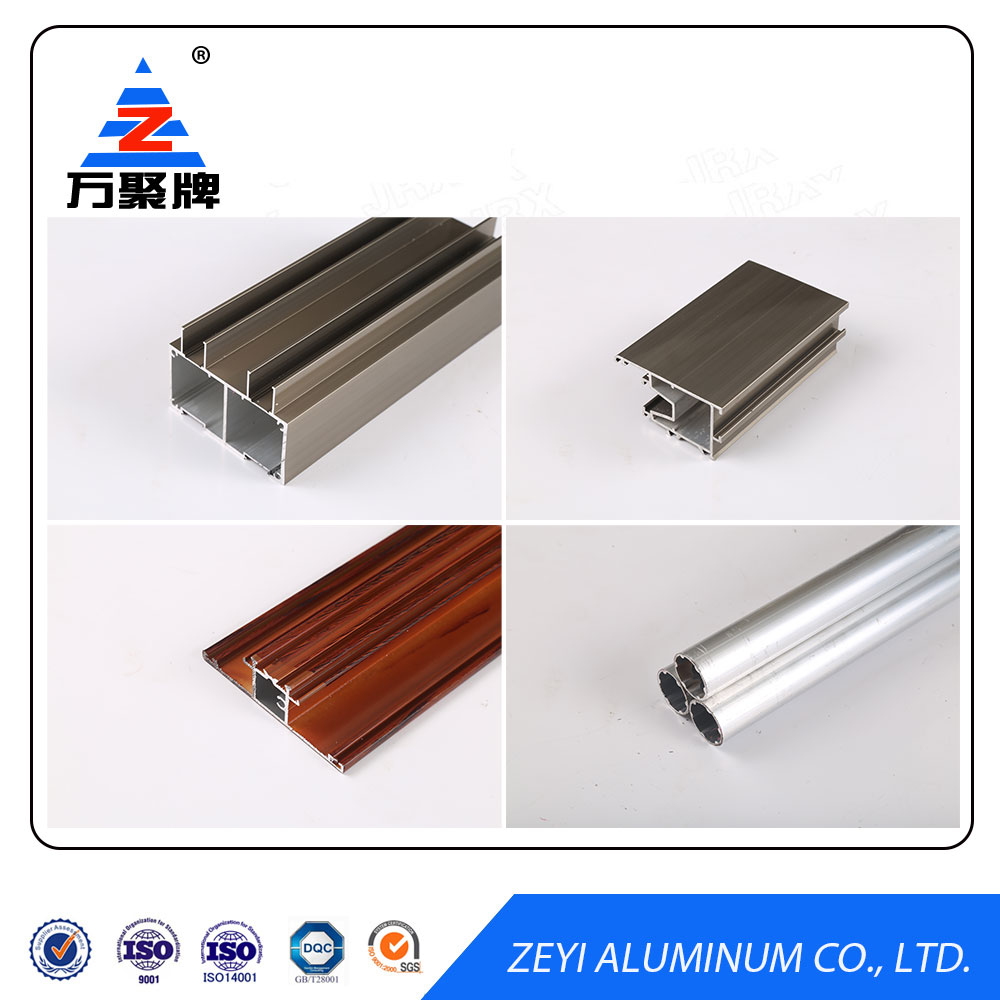 Bronze anodized Aluminum Profile for Door and Window