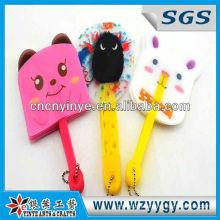 OEM pvc hand-held fan, plastic promotional hand held fan