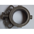 Best quality butterfly valve body cast iron rosette part