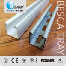 41 * 41mm Unistrut tipo Metal Strut Channel Fornecedor Fabricação Certificações
