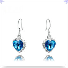 Bijoux en cristal Accessoires de mode Boucles d'oreilles en alliage (AE308)