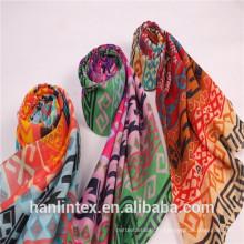 T 60 * 60 80 * 74 tissu de polypropylène polyester poli pour tisser de la navette à l'écharpe