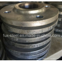 Screwed Flange, Table 1600/4, Anti-Rust Oil, Bossed Flange