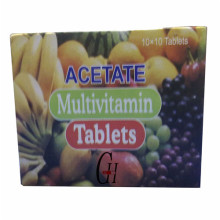 Acetat-Multivitamin-Tabletten
