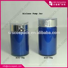 China Botella de crema sin aire para el aceite de limpieza 30ml 50ml Botella de plástico cosmética