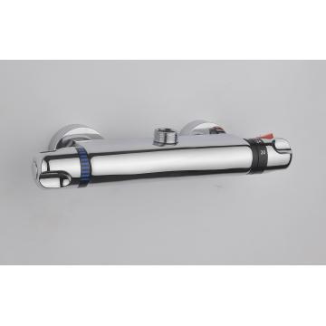Grifo mezclador termostático de la ducha, mezclador termostático de la ducha de cobre amarillo