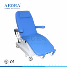 Blood injection phlebotomy chairs for sale with IV stand