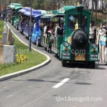 Tourist Fun Train with Three Coaches