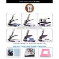 2015 Nueva Sublimación Camiseta Priting máquina de prensa de calor por estilo hidráulico ST-4050A