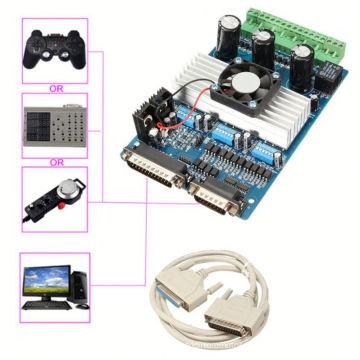 Cnc usb 3 axis breakout controller mach3