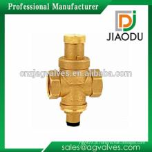 1/2 polegada 3/4 polegada 1 polegada uso para água de alta pressão para baixa pressão latão niquelado latão pressão de bronze reduzir válvula