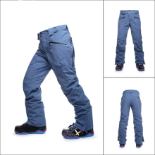 Men's Fleece-Lined Soft Shell Winter Pants