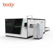 bodor S4 6kw fiber laser cutter machine with safety cover best price