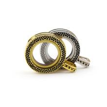 Black engrave Mini pendant living locket