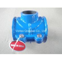 PVC / PE / Di / Steel Pipe Saddle Clamp
