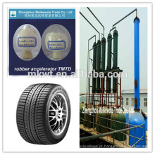Accelerator TMTD (CAS NO.:137-26-8) para distribuidores de produtos químicos de Europa