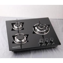 Tempered Glass Cooking Gas Stove with Sabaf Burner