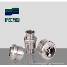 Válvula de retención de la soldadura del acero inoxidable (IFEC-ZH100005)