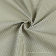 Tissu composé de pongé de polyester avec le jacquard pour la veste