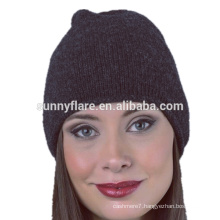 2017 Wholesale Custom Cashmere Baggy Beanie Hat