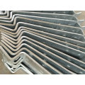 OEM горячая оцинковка наружная лестница часть для использования здания