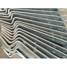 OEM Hot DIP Galvanized External Stairway Part for Building Use