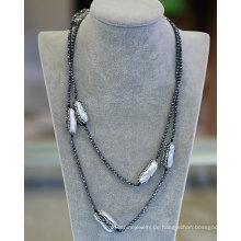 Mode Hemit Barock Perlen Halskette Armband Schmuck