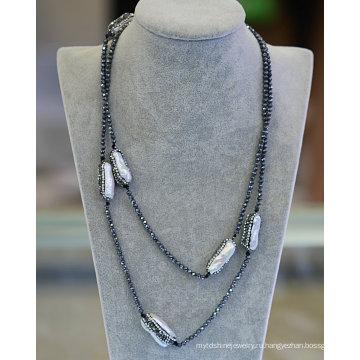 Мода Hemitate барокко жемчужиной ожерелье браслет ювелирные изделия