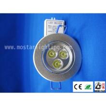 LED 3x1W Led Ceiling Lamp