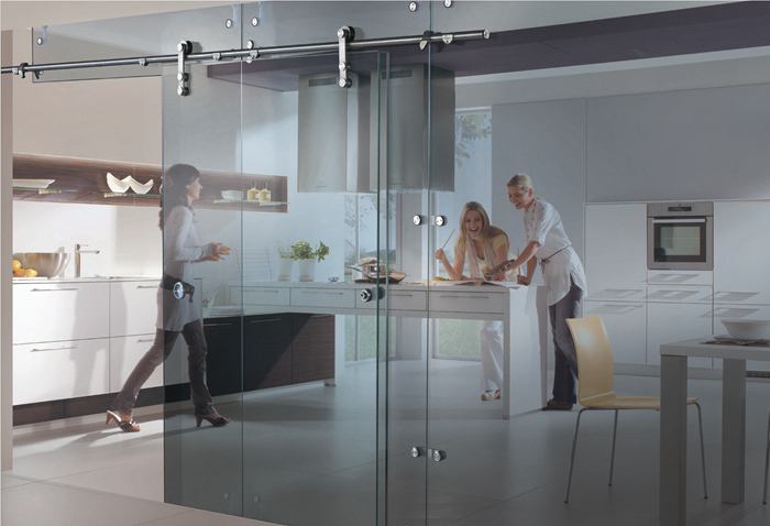 Office Glass Sliding Door Fittings